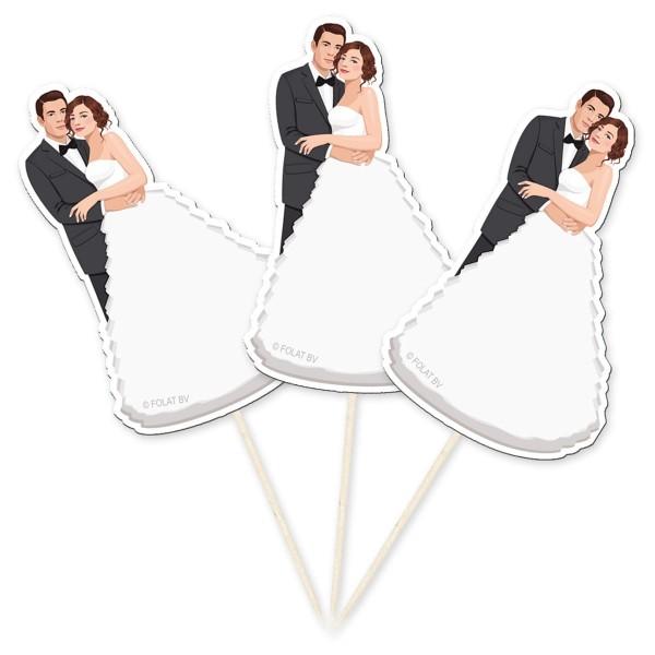 10 Hochzeits-Picker Brautpaar
