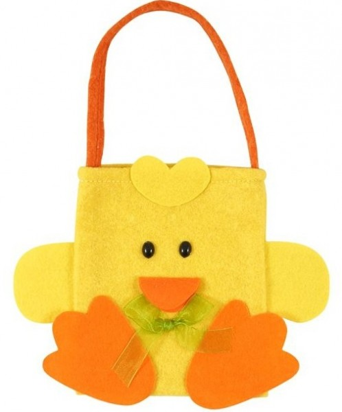 Bolsa de fieltro Easter Chick Pieps 17 x 23cm