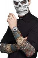 Stylische Tattoo Ärmel Tag Der Toten