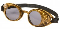 Mac Max Steampunk Brille In Bronze