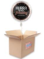 Hurra Geburtstag Folienballon 45cm