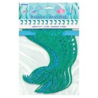Zauberhafte Meerjungfrau Sirena Girlande 274cm