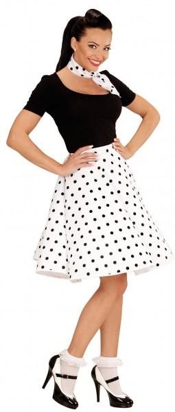 50er Jahre Pünktchen Kleid
