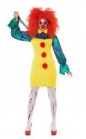 Killer Clown Celine Kostüm für Damen