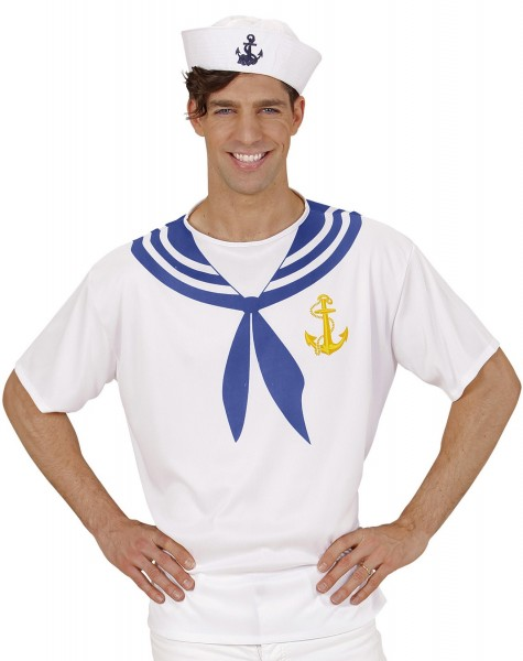Sailor sailor T-shirt voor heren