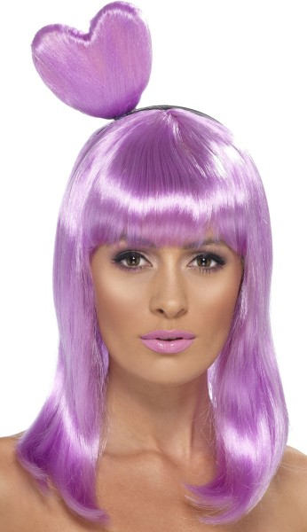 Popstar Candy Perücke In Lila