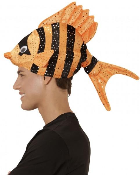 Orangsfarbener Anemonenfisch Hut