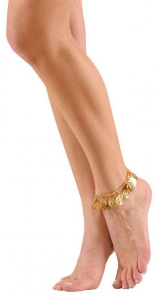 Goldener Zigeuner Fußschmuck