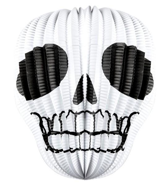 Halloween Laterne Totenkopf 25cm