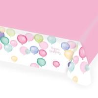 Pastell Geburtstag Tischdecke 1,5 x 1,15m