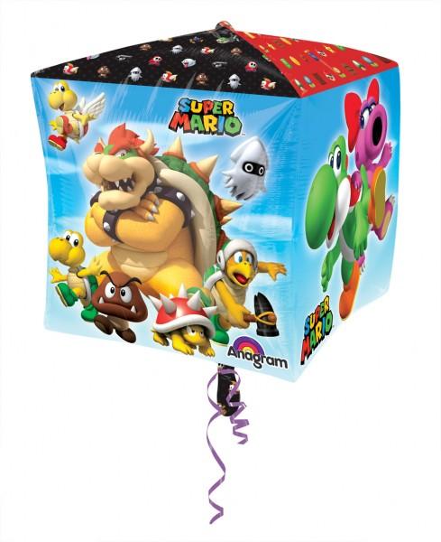 Cubez Ballon Super Mario Bros 38cm