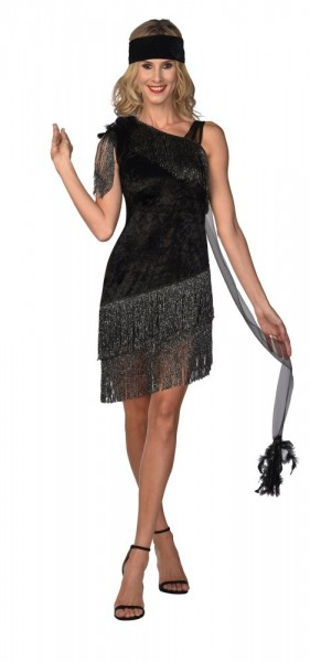 Charleston Diva Costume Ladies Black