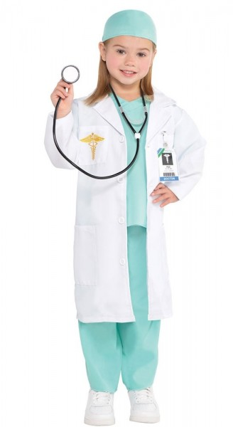 Déguisement docteur Elli docteur fille