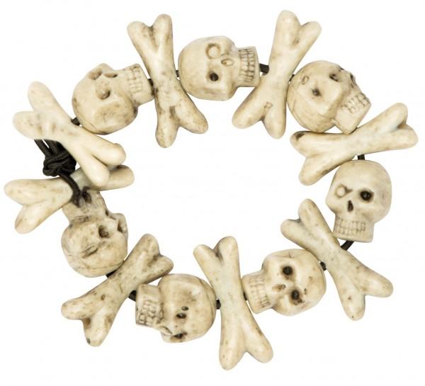 Mörderisches Voodoo Totenkopf Armband