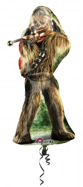 Folienballon Star Wars Chewbacca Figur