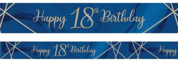 Lussuoso striscione per diciottesimo compleanno 2,74 m