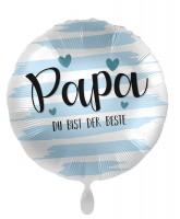 Papa Du bist der Beste Folienballon 45cm