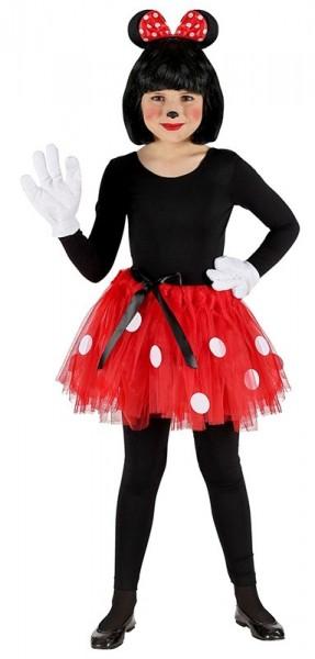 Mini Maus Kostüm-Set 3-teilig