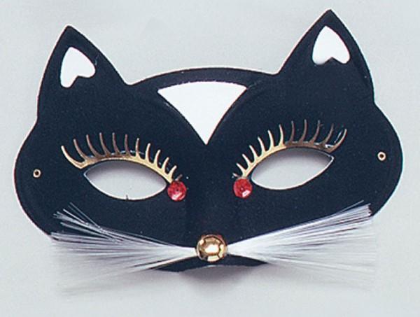 Black Cat Maske