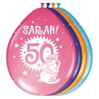 8 Sarah Party Luftballons 30cm