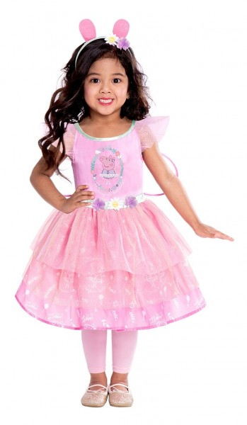 Peppa Pig Girls Princess Costume