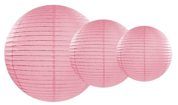 Lantern Lilly pink 20cm