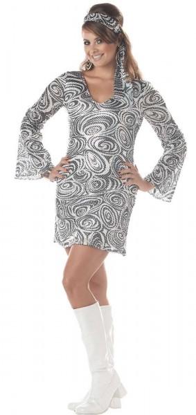 70s Disco Kleid Beatrice