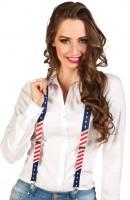 US Flaggen Hosenträger
