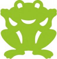 Papier-Girlande Frosch 6m