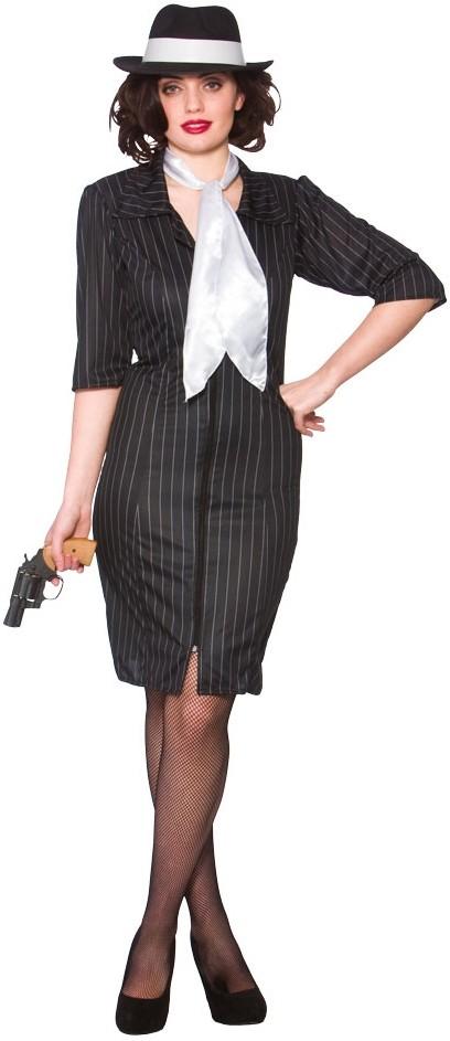 20er Jahre Gangsterbraut Damenkostum Party De