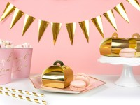 DIY Gold metallic Girlande 2,15m