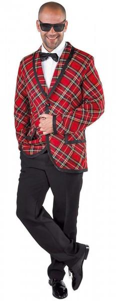 Schottenlook jas voor heren