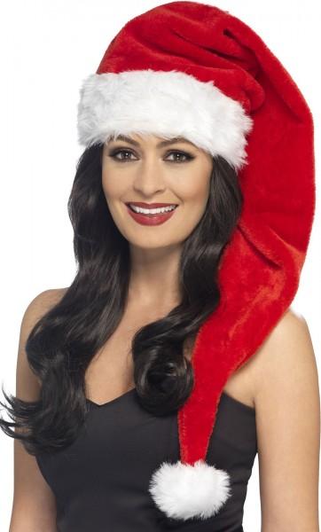 Samtige Miss Santa Weihnachtsmütze