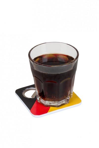 Deutschland Untersetzer mit Flaschenöffner 2