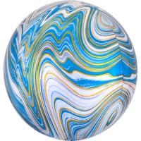 Marblez Folienballon blau