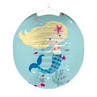 Lampion niedliche Meerjungfrau 25cm