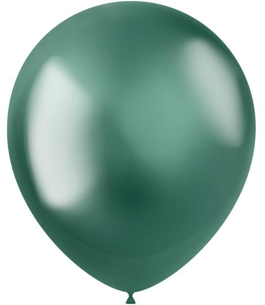 50 ballons Shiny Star vert 33cm