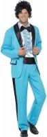 Eisblauer 80er Jahre Anzug Lukas