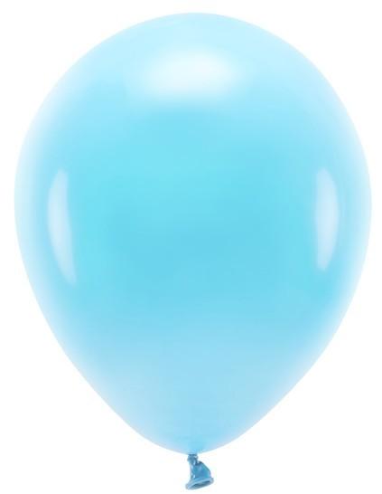 100 ballons éco pastel bleu bébé 30cm
