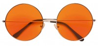 70er-Jahre Hippiebrille Orange