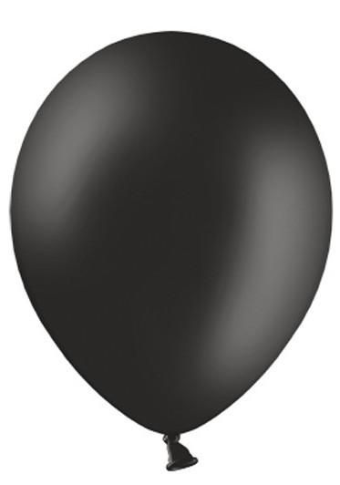 10 Ballons Schwarz 30cm 1