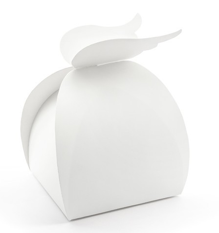10 Heaven Blessed Geschenkboxen weiß
