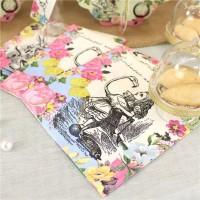 20 Alice Tea Party Servietten 25cm