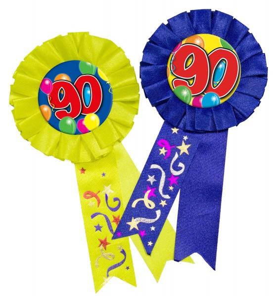 Button Rosette 90. Geburtstag 1