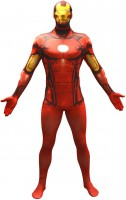 Legendary Iron Man Morphsuit Rot