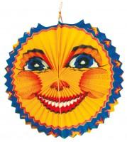 Sankt Martin Lampion Lächelnder Mond 25cm