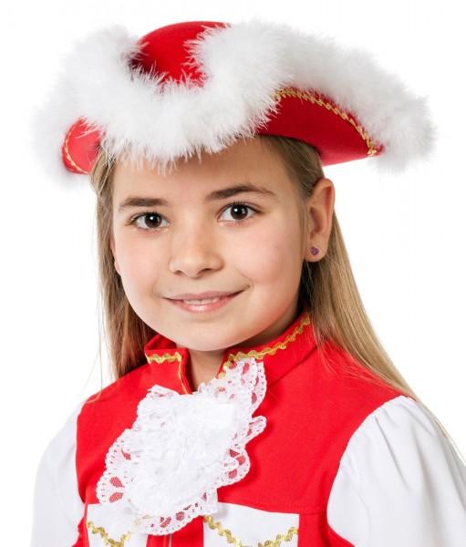 Roter Tanzmariechen Hut