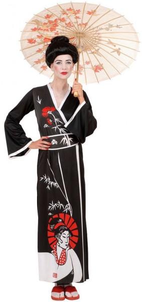 Geisha Gewand Yuki Damenkostüm