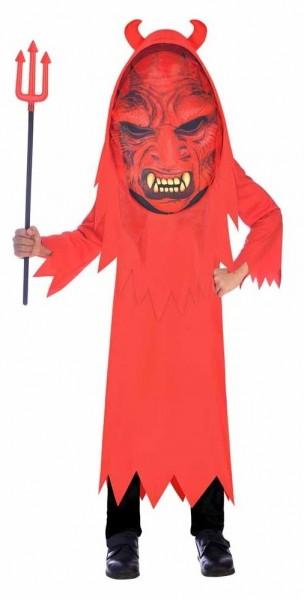 Red demon child costume