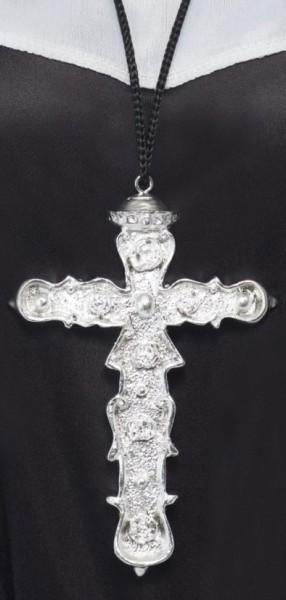 Klassische Halskette Mit Kreuz